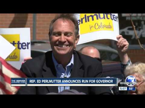 Rep. Ed Perlmutter announces run for Colorado governor
