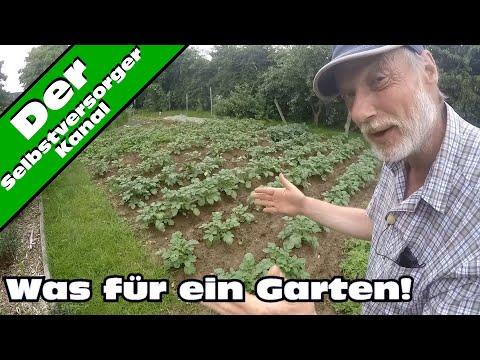 Was wächst und was nicht wächst. Gartenrundgang Mai 2016.