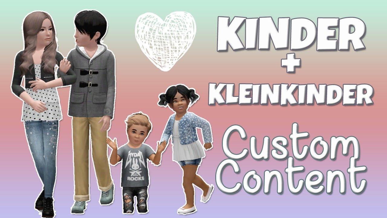 Süße Kinderkleidung In Die Sims 3 Custom Content Für Kinder