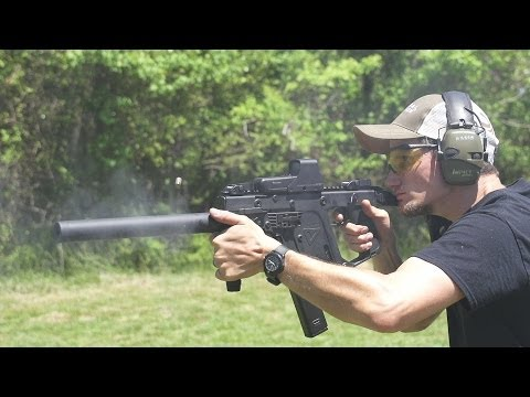 KRISS Vector CRB Carbine Review .45 ACP