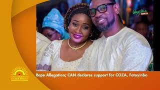CHRISTAIN ASSOCIATION OF NIGERIA SHOWS SUPPORT TO THE COZA CHURCH AND PASTOR FATOYINBO