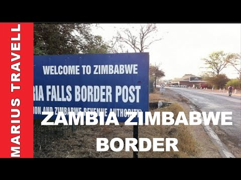 South Africa Zambia Zimbabwe Border Post