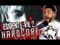 STOP SCARING ME Forced To Play Resident Evil 2 HARDCORE Mode mp3
