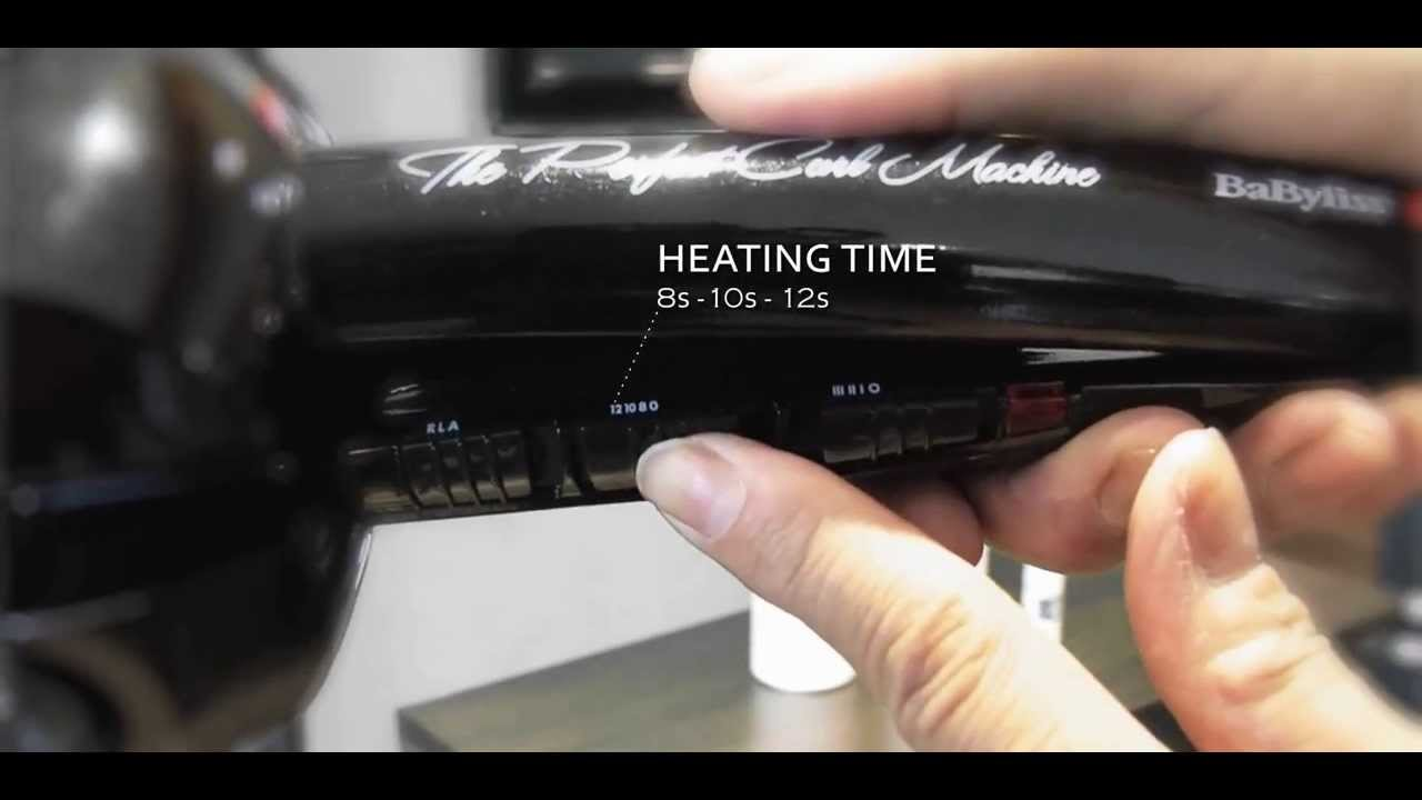 BaByliss Pro - MiraCurl® Perfect Curling Machine Model BAB2665E - YouTube f6ca51d85e8
