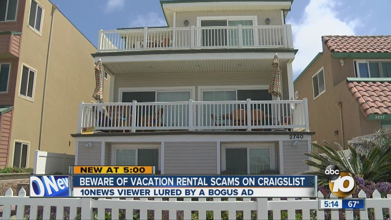 beware of vacation rental scams on craigslist youtube