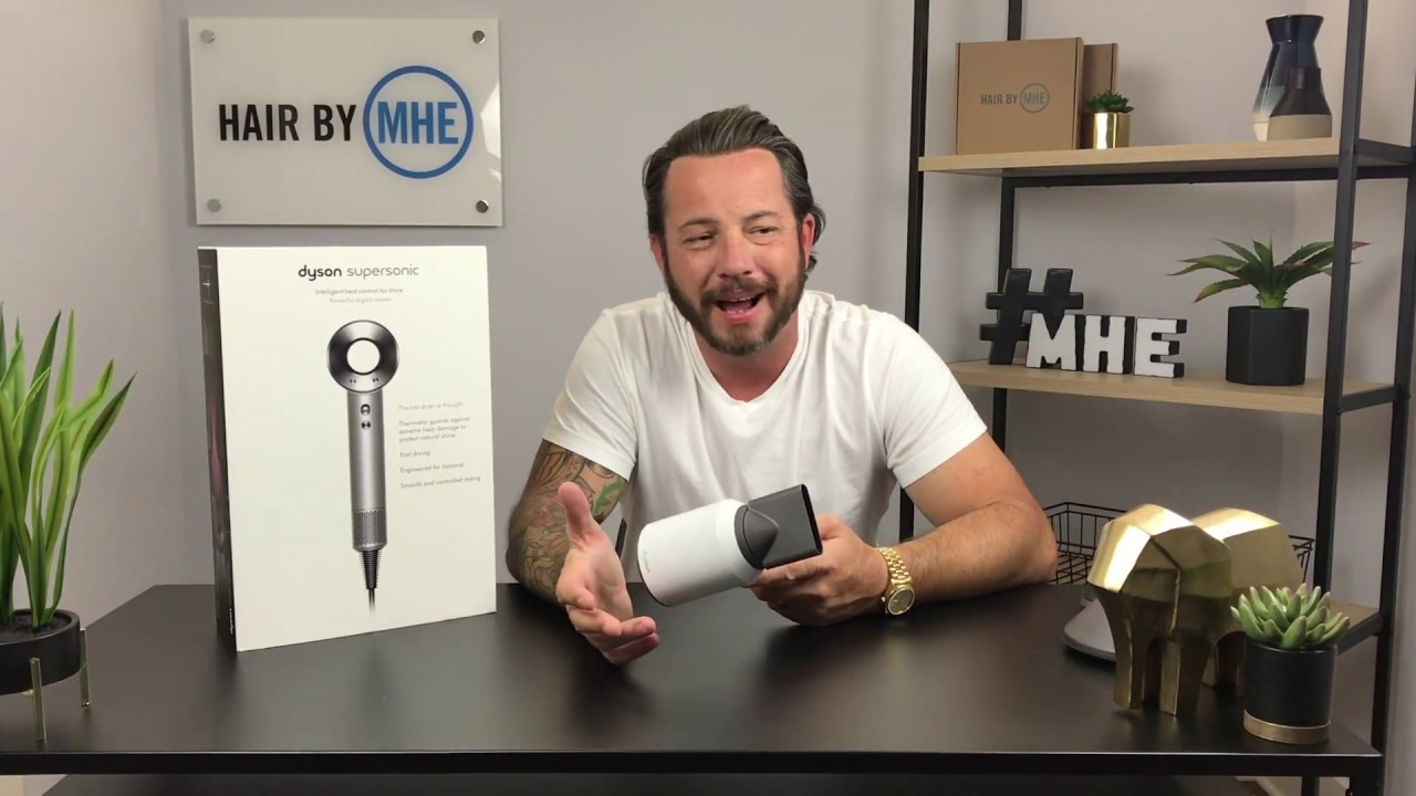$400 Dollar Dyson Hair Dryer Review From a Guy In a Hair Replacement or Hair System