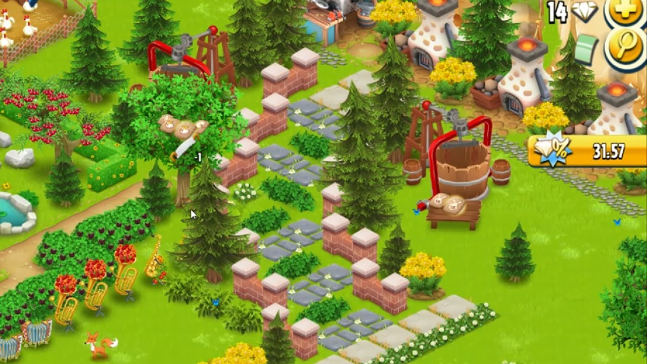 Hayday Farm Decoration Design Idea In Level 42 Build Stairs Youtube