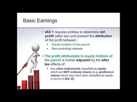 Webinar IAS 33 Earnings per share