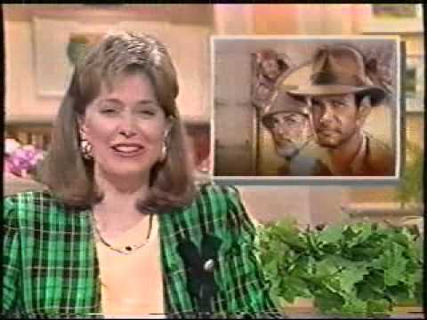 "The ""Today"" Show on ""Indiana Jones & the Last Crusade"" - 1989 - part 1 of 2!"