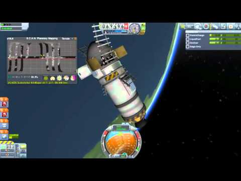 KSP Thai 1.0 HC - Polar orbit กับ SCANsat