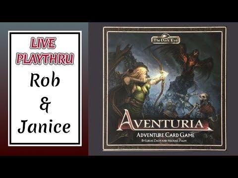 The Dark Eye: Aventuria Adventure Card Game - Live!