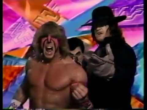 Ultimate Warrior and Undertaker Promo on BerzerkerShangoUltimate Warrior Undertaker