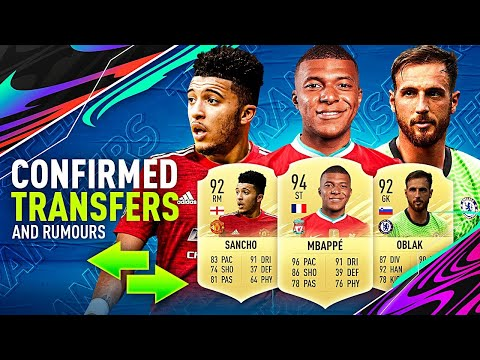 FIFA 21   NEW CONFIRMED SUMMER TRANSFERS 2021 & RUMOURS😱🔥  w/ SANCHO, OBLAK, DE GEA & MBAPPÉ⚡🦁