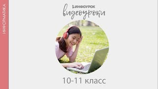 База данных — основа информационной системы | Информатика 10-11 класс #29 | Инфоурок
