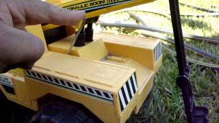 tonka steel toy tow truck good condition