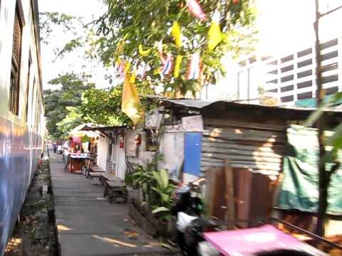 Thailand, Bangkok trainride