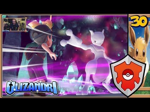 Pokemon: Lets Go, Eevee! - Blue Battle, Cerulean Cave & Mewtwo - Episode 30