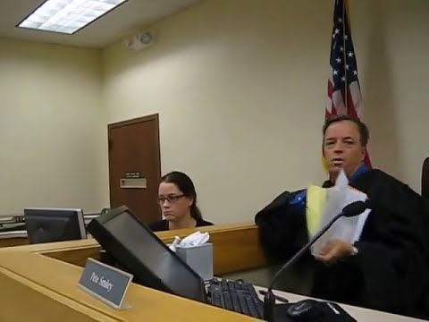Police Criminal Harassment BACKFIRES! in courtroom
