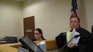 Police Criminal Harassment BACKFIRES! in courtroom thumbnail