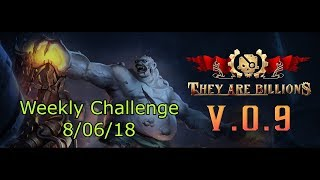 They Are Billions! | Weekly Challenge 8/6/18 | Infected Giant Slayer! (new update v 0.9 / Rank 28)