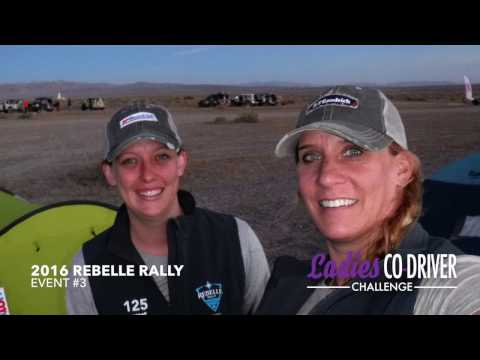 2016 Rebelle Rally - Ladies Co-Driver Challenge