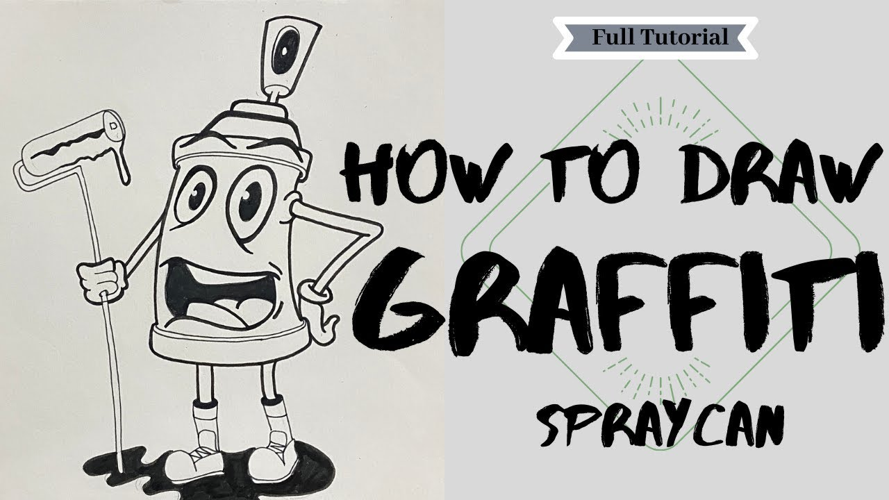 how to draw graffiti step by step for beginners slowly