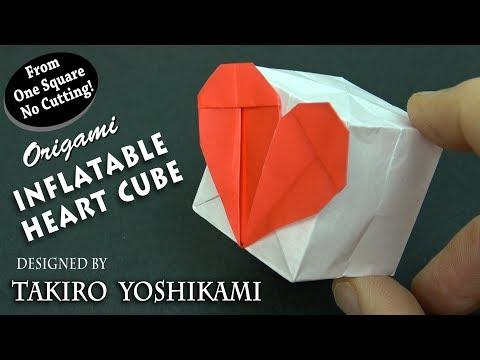 Origami Heart Cube