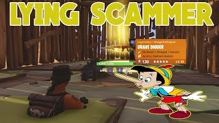 LYING SCAMMER SCAMMED HIMSELF (Scammer Gets Scammed) Fortnite Save The World