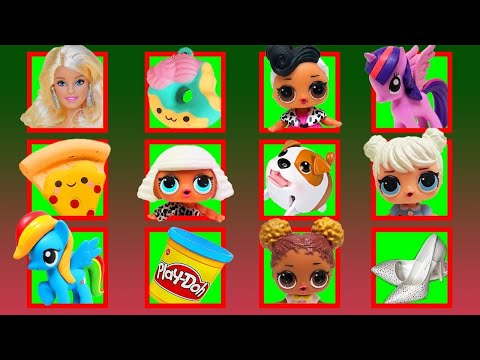 LOL Surprise Dolls Sing 12 Days Of Christmas Song! Featuring Sugar Queen, Court Champ & Dollface!