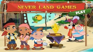 Never Land Games | Jake and the Neverland Pirates online game for kids | Kids TV 123 Channel