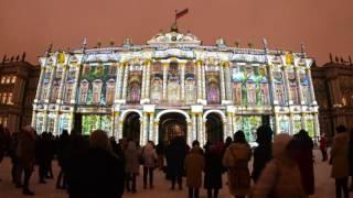 7 декабря — День Эрмитажа Мистерией света на Дворцовой