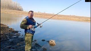 Рыбалка на спиннинг одной рукой