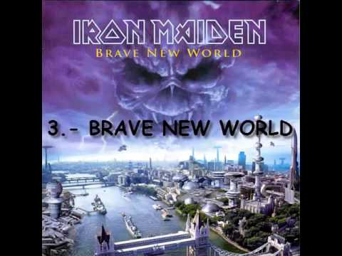 #12 Brave New World (2000) - Iron Maiden (Full Album)
