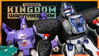 Transformers KINGDOM - Optimus Primal + Cyclonus | JobbytheHong Review