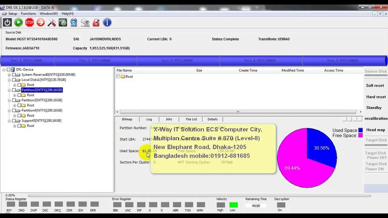 Data Recovery Services in Dhaka Bangladesh HDD, RAID, SSD