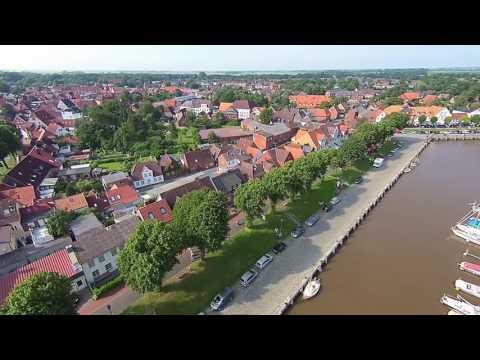 Historischer Hafen von Tönning - Halbinsel Eiderstedt