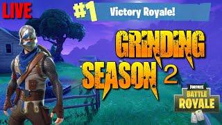 Grinding Battle Pass Saison 2 - NOUVEAU MISE À JOUR de Noel! (Fortnite Battle Royal PS4)