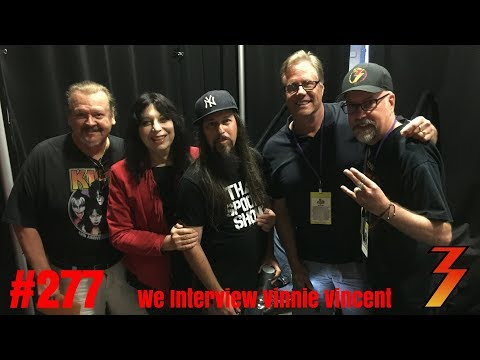 Ep. 277 Vinnie Vincent, Jay Jay French & Slim Jim Phantom Live at Spooky Empire 2018