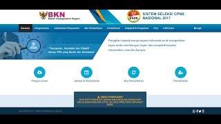 Informasi Lowongan KERJA Cpns 2017 Lulusan SMA SMK DIII DIV S1 S2 PERIODE  2