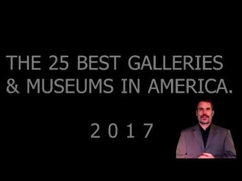 25 BEST GALLERIES AND MUSEUMS IN AMERICA