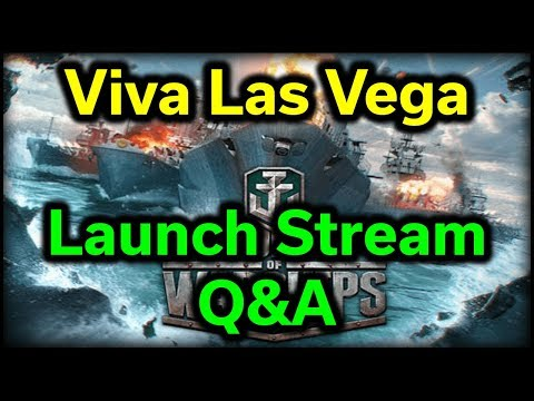 RX Vega 64 --- Launch Live Stream --- Playing World of Warships