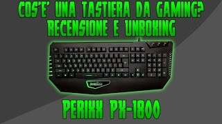 Differenza tastiera da gaming
