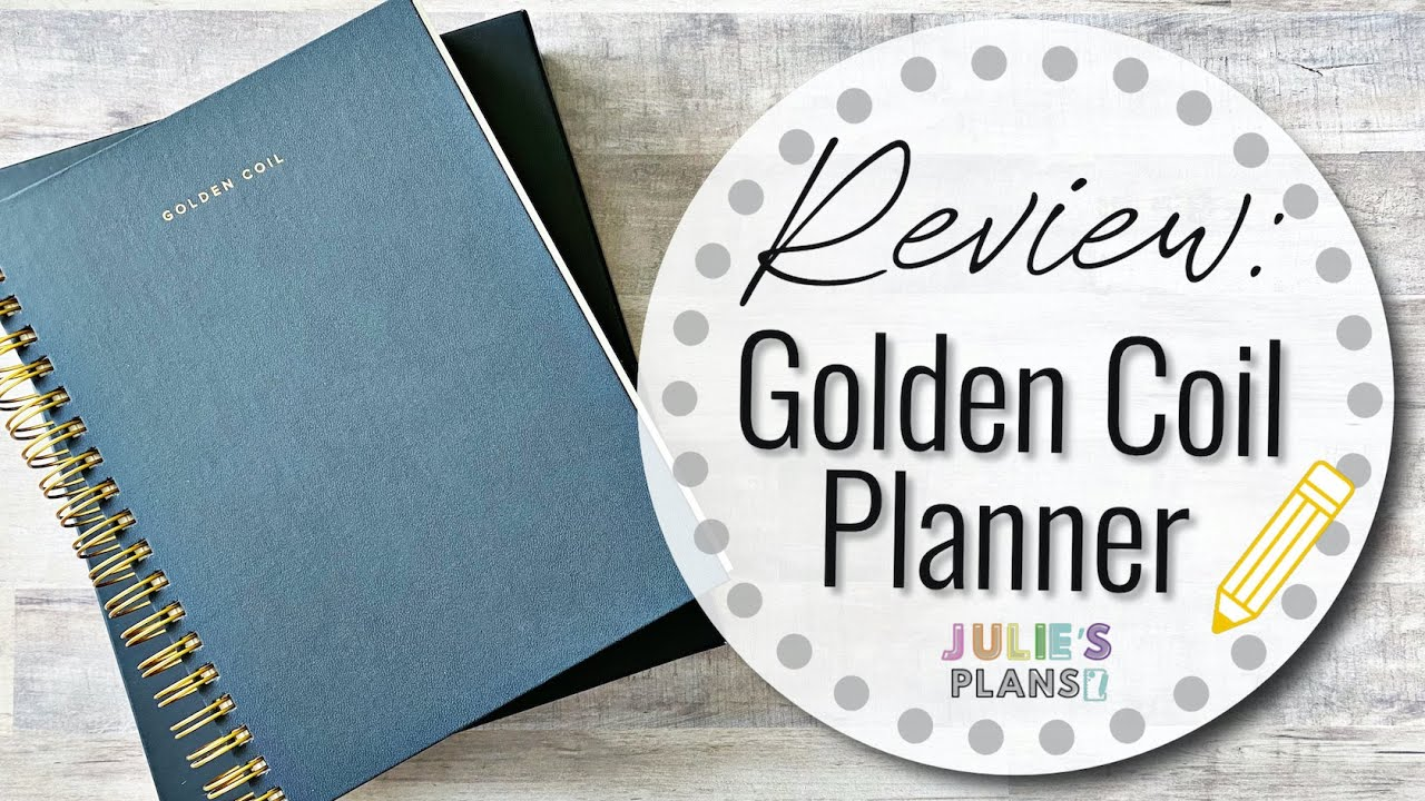 REVIEW: Golden Coil Planner