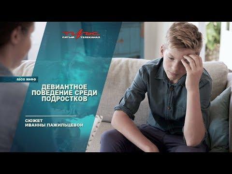 Девиантное поведение среди подростков