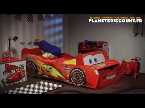lit enfant voiture cars flash mcqueen disney youtube. Black Bedroom Furniture Sets. Home Design Ideas