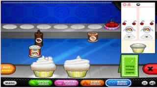 Прохождение игры Кафе кексы папы Луи :) часть 1 (самое большое видео на моем канале)