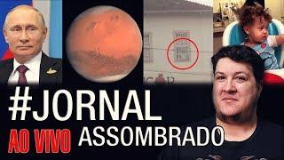 J.A.#233: Menina de 2 Anos Vê Fantama! Órgãos em Porcos! Fantasma Camapanha-MG! Rússia em Marte?