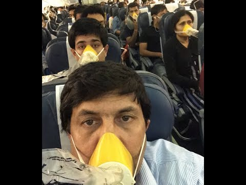Rare Inside Video Of Jet Airways Flight From Mumbai To Jaipur #civil Aviation #jetairlines
