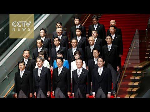 Japanese PM picks hawkish defense minister in cabinet reshuffle