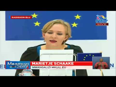 EU observation mission preliminary statement on Kenya's election